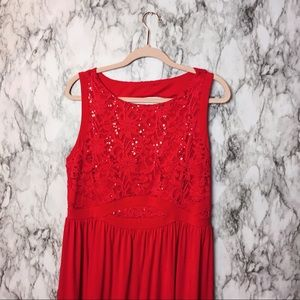 Dresses & Skirts - Red Event Gown